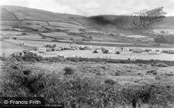 Llanaber, R.O.Williams Caravans From The Beach c.1950