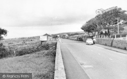 The Barmouth To Harlech Road c.1960, Llanaber