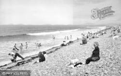 The Beach c.1955, Llanaber