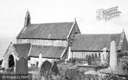 The Church c.1955, Llanaber