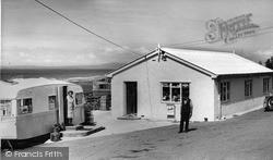 The Shop, Tyddyn-Y-Nant Caravan Site c.1960, Llanaber