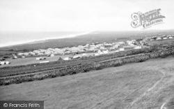 Llanaber, Tyddyn-Y-Nant Camping Site And Coast c.1955