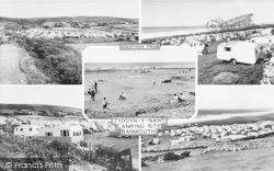 Llanaber, Tyddyn-Y-Nant Camping Site c.1955