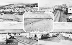 Llanaber, Tyddyn-Y-Nant Camping Site Composite c.1960