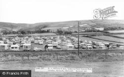 Llanaber, Tyddyn-Y-Nant Caravan Park c.1960