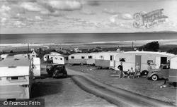Tyddyn-Y-Nant Caravan Site c.1960, Llanaber