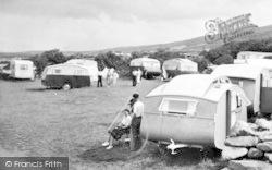 Llanaber, Tyddyn-Y-Nant Farm Camping Site c.1950