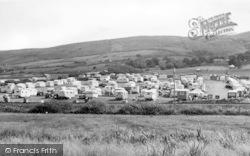 Llanaber, Tyddyn-Y-Nant Farm Camping Site c.1955