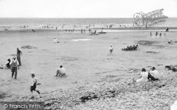 Llanaber, Tyddyn-Y-Nant, The Beach c.1950