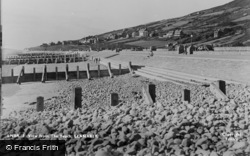 Llanaber, View From The Beach c.1950