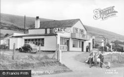 Llanaber, Wayside Cafe c.1950
