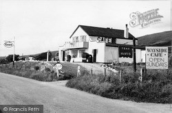 Wayside Cafe c.1955, Llanaber