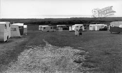 Wayside Camp Site c.1955, Llanaber