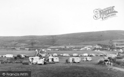 Wayside Camping Site c.1950, Llanaber