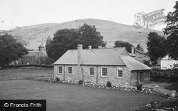 Llanarmon Dyffryn Ceiriog, Ceiriog Centenary Hall And St Garmon's Church 1936