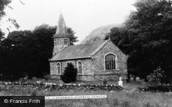 Llanarmon Dyffryn Ceiriog, Church c.1950