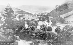 Llanarmon Dyffryn Ceiriog, General View c.1936
