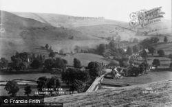 Llanarmon Dyffryn Ceiriog, General View c.1950