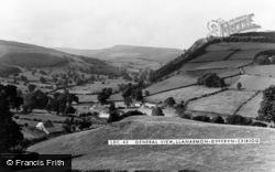 Llanarmon Dyffryn Ceiriog, General View c.1955
