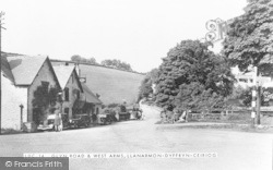 Llanarmon Dyffryn Ceiriog, Glyn Road And West Arms c.1939