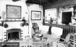 Llanarmon Dyffryn Ceiriog, The Bar, West Arms Hotel c.1965