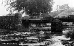 Llanarmon Dyffryn Ceiriog, The Bridge c.1955