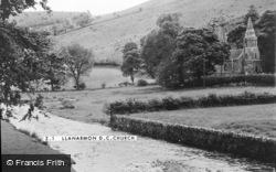 Llanarmon Dyffryn Ceiriog, The Church c.1955