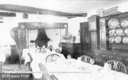 Llanarmon Dyffryn Ceiriog, The Dining Room, West Arms Hotel c.1965