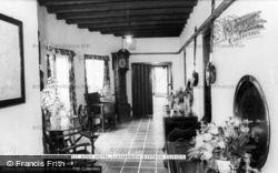 Llanarmon Dyffryn Ceiriog, The Interior, West Arms Hotel c.1965