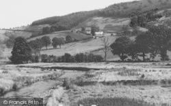 Llanarmon Dyffryn Ceiriog, The River And Valley c.1965