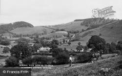 Llanarmon Dyffryn Ceiriog, The Village c.1960