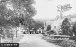 Llanarmon Dyffryn Ceiriog, The Village From The Bridge c.1950
