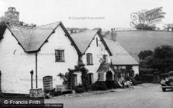 Llanarmon Dyffryn Ceiriog, The West Arms Hotel c.1955