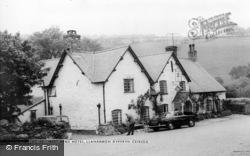 Llanarmon Dyffryn Ceiriog, The West Arms Hotel c.1965