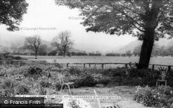 Llanarmon Dyffryn Ceiriog, View From The West Arms Hotel c.1965