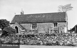 Llanarmon, The Church c.1955