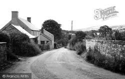 Llanarmon-Yn-Lal, Llangollen Road c.1955