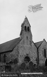 Llanarmon-Yn-Lal, St Garmon's Church c.1955