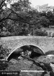 Llanarmon-Yn-Lal, The Bridge c.1955