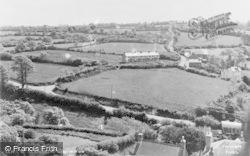 Llanarth, General View c.1955