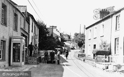 Llanarth, Main Street c.1955
