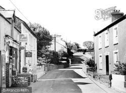 Llanarth, Main Street c.1960