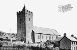 Llanarth, St David's Church c.1955