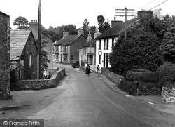 Llanarth, The Bridge And Post Office c.1955