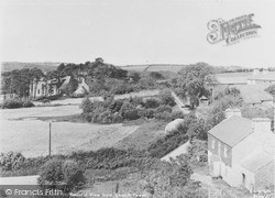 Llanarth, View From Church Tower c.1955
