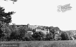 Llanarth, View From Gwynfryn Field c.1950