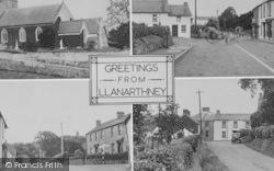 Llanarthney, Composite c.1955, Llanarthne