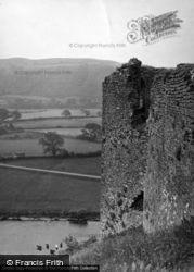 Llanarthney, Dryslwyn Castle 1953, Llanarthne