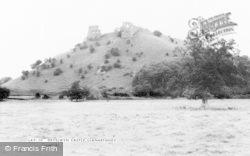 Llanarthney, Dryslwyn Castle c.1955, Llanarthne