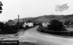 Llanarthney, Paxton's Tower c.1955, Llanarthne